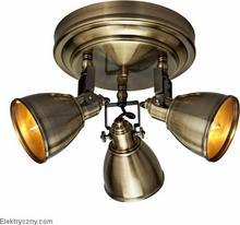 Markslojd FJALLBACKA Reflektor potrójny Patyna 104050 chrom 104051