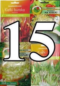 PNOS Nasiona na kiełki - Zestaw 15 nasion