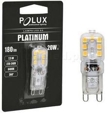 Polux arówka LED G9 2.5W ZIMNA 306586