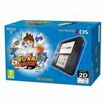 Nintendo 2DS Czarno-Niebieski + Yo-Kai Watch