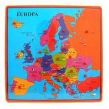 Brimarex Drewniana Mapa Europy JSBRMG0U9038444