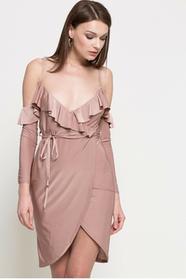 Missguided Sukienka DE910521 brudny róż