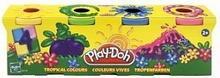 Hasbro Play-doh ZESTAW 4 TUBY KOLORY