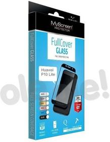 MYSCREEN Protector Protector FullCover Glass Huawei P10 Lite czarny