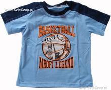 T-shirt dziecięcy Sporciak niebieski 98