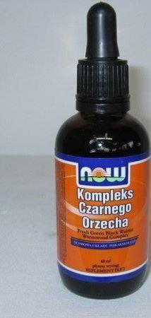 Now Foods Kompleks czarnego orzecha - Fresh Green Black Walnut 60 ml