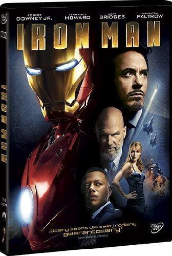 Disney Iron Man DVD