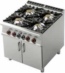RM Gastro Kuchnia gazowa z szafką PC - 98 G