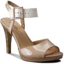 Quazi Sandały Brema-04 Beżowy/Biały