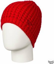 Roxy Czapka zimowa Mellow Beanie - kolor czerwony