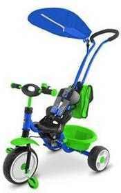 Milly Mally Rowerek Boby deluxe niebiesko-zielony