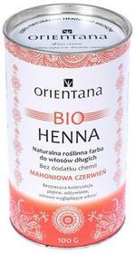 Orientana Bio henna do mahoniowa czerwień 100g