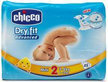 Chicco Mini 25szt 3-6kg) pieluszki jednorazowe 07171.00