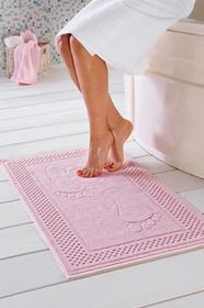 Soft Cotton Dywanik łazienkowy STEP 50x90cm Jasnobeżowy 4040