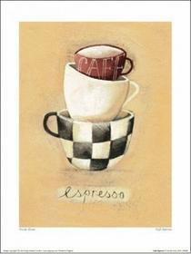Filiżanki Kawy - Obraz, reprodukcja