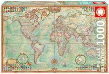 Educa Borras Puzzle Świat 1000 mapa polityczna