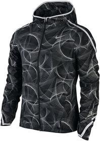 Nike kurtka do biegania damska SHIELD IMPOSSIBLY LIGHT JACKET HOODED PRINT / 799847-010 Ona 886551406429