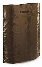 Torba foliowa 200 szt. 350x450x80 brązowa PDR35BR
