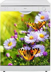 Oklejaj Naklejka na zmywarkę - Motyle na łące 0043 - Naklejka
