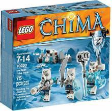 LEGO Chima Plemię Lodowych Niedźwiedzi 70230