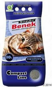 Benek Super Compact Zapachowy Żwirek dla kota - 25 l
