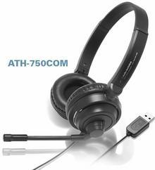 Audio-Technica ATH-750COM czarne