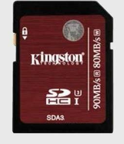 Kingston SDHC UHS-I Speed Class 3 16GB
