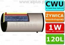Ermet 120l skay dwupłaszczowy poziomy bojler do CWU - podgrzewacz wymiennik bezo