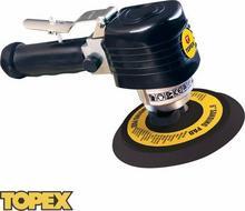 TOPEX szlifierka mimośrodowa pneumatyczna 1/4, 150mm 74L215