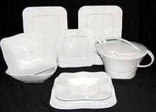 Lubiana Serwis obiadowy dla 12 osób - Moving biały