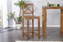 I & I Lagos Drewniany Hoker Drewno Palisander lakier półmat 120x45cm - i21678