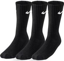 Nike Odzież Tenisowe Value Cotton Cushioned Crew - 3 pary/black