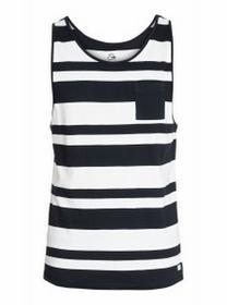 Quiksilver T-shirt antons tank 2015 czarny|biaŁy