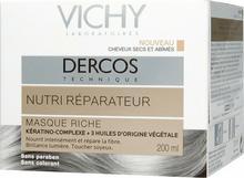 Vichy Dercos odżyczo-regenerująca bogata Maseczka 200ml