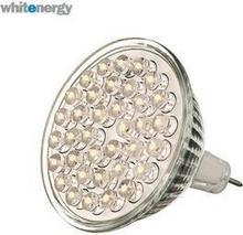 Whitenergy żarówka LED MR16 36 LED 1.8W 12V barwa zimna biała 07304