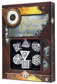 Q-Workshop Komplet Steampunk Clockwork Biało-Czarny