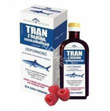 DOMOWA APTEC Domowa apteczka tran z rekina grenlandzkiego syrop o smaku malinowym 250ml