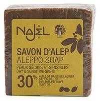 ALEPPO Najel Mydło w kostce z olejem laurowym 30%