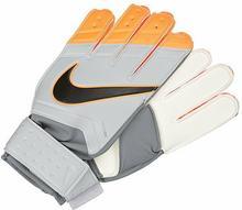 Nike Performance MATCH GOALKEEPER Rękawice bramkarskie grey/total orange/black G