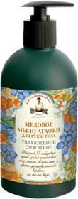 Pierwoje Reszenie Receptury Mydło miodowe do ciała i rąk 500 ml