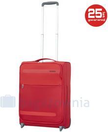 Samsonite AT by Mała kabinowa walizka AT HEROLITE 80370 Czerwona - czerwony