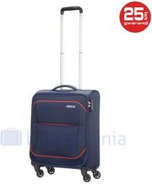 Samsonite AT by Mała walizka kabinowa AT SUNBEAM 74002 Granatowa - granatowy
