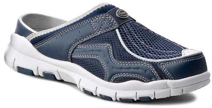 19d5d0a64cb1d Scholl Klapki Jump F22769 1040 350 Navy Blue materiał/-materiał, skóra  ekologiczna/-skóra ekologiczna – ceny, dane techniczne, opinie na SKAPIEC.pl