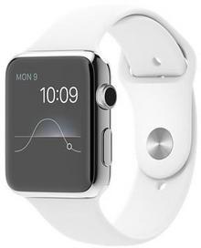 Apple Watch 2 42 mm Pasek sportowy / Biały