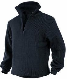 Mil-Tec Sweter Troyer Navy
