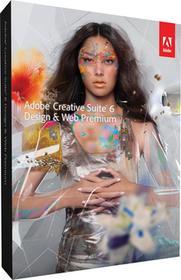 Adobe Creative Suite 6 Design & Web Premium PL - Nowa licencja