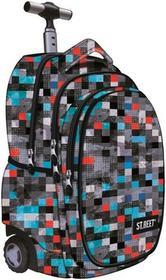St. Majewski Plecak na kółkach Street Pixels TB-01