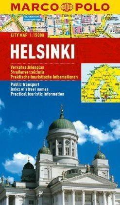 praca zbiorowa Marco Polo Plan miasta Helsinki - skala 1:15 000 - błyskawiczna wysyłka!