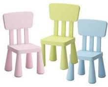Krzesełko dziecięce z atestem 3 kolory