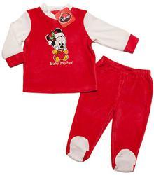 Disney MICKEY Mickey piżamka prezent pod choinkę Czerwony